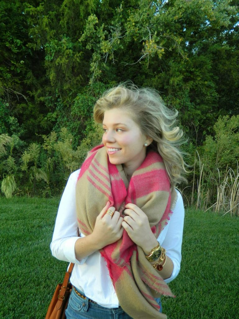 Scarves and Puppies with Peaches to Pearls