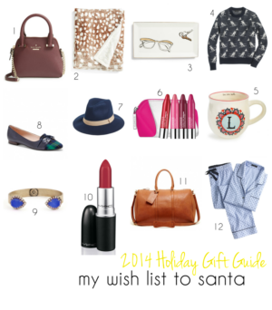 Gift Guide – My Wish List to Santa