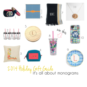 Gift Guide for the Monogram Obsessed
