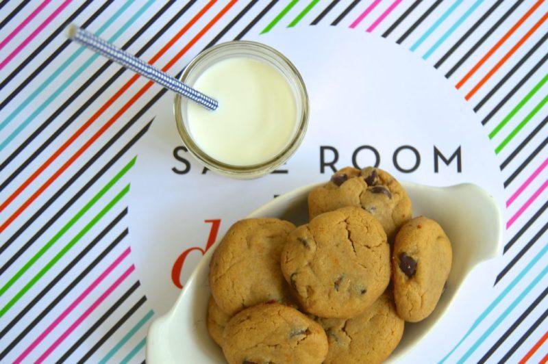 Soft Peanut Butter + Dark Chocolate Cookies