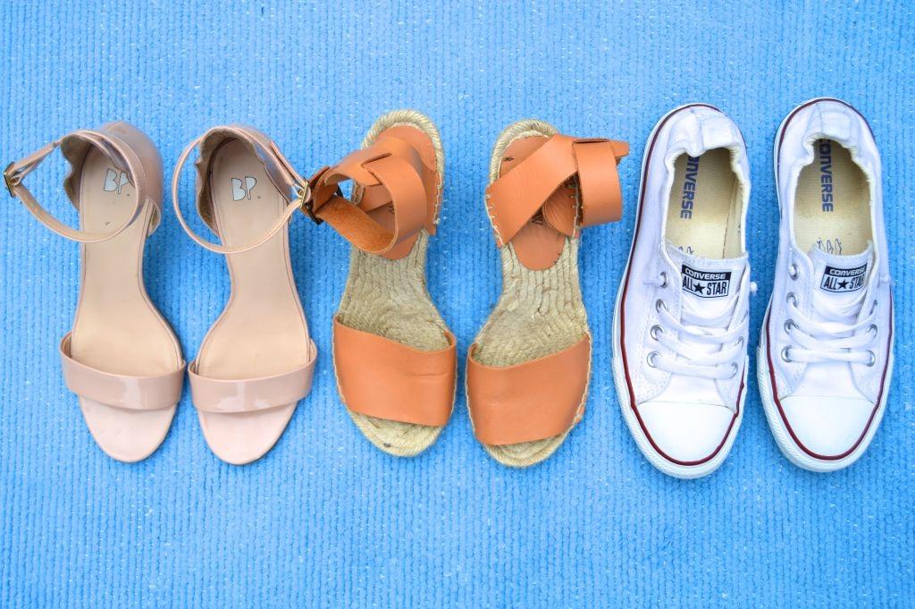Summer shoes, converses, espadrilles, nude heels, espadrille wedges