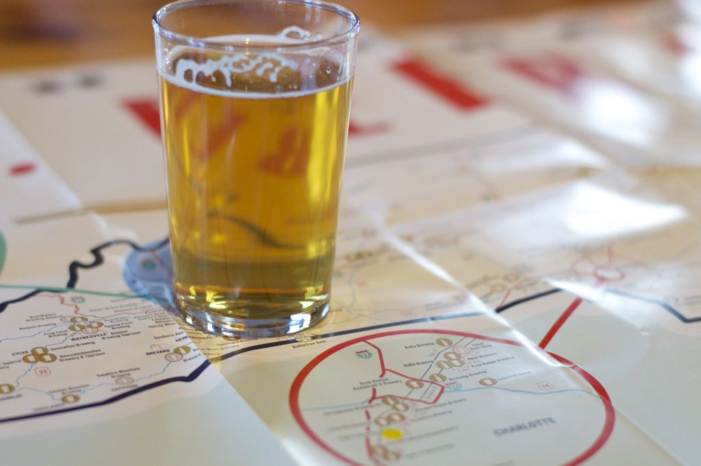 Great NC BBQ Map, Great NC Beer Map, NC Breweries, Charlotte Breweries, Triple C Brewery, OMB, Things To Do Charlotte