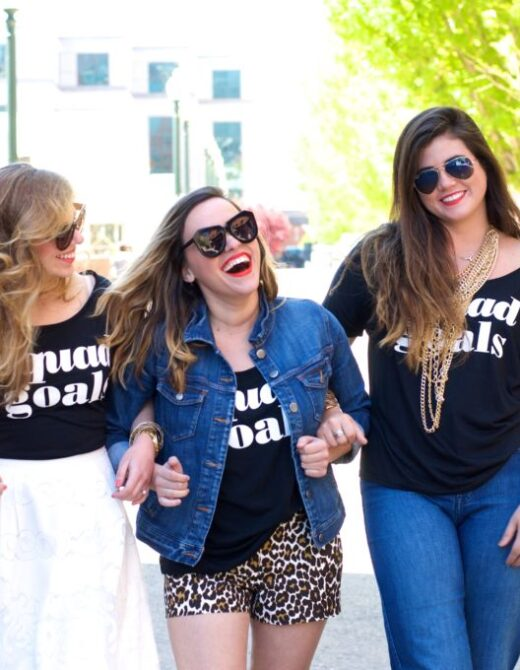 Blogger Biffs, Giveaway, My Kind Of Lovely, BESTees, Besties, Blogger Besties, Three Ways to Style Your Favorite Tee