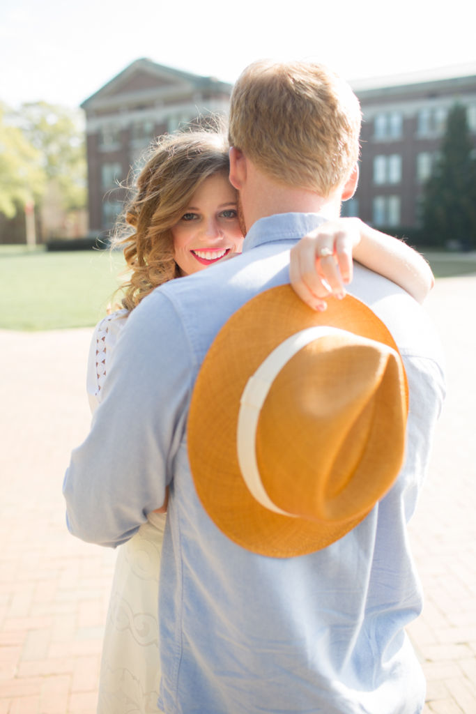 Engagement Photos, Save The Dates, Minted Wedding, Southern Engagement Photos, Summer Engagement Photos, North Carolina Real Wedding, The Knot, Style Me Pretty