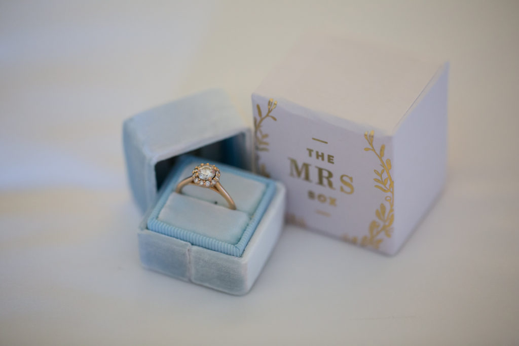 Mrs. Box, Blue Mrs. Box, Engagement Ring Box, The Mrs. Box