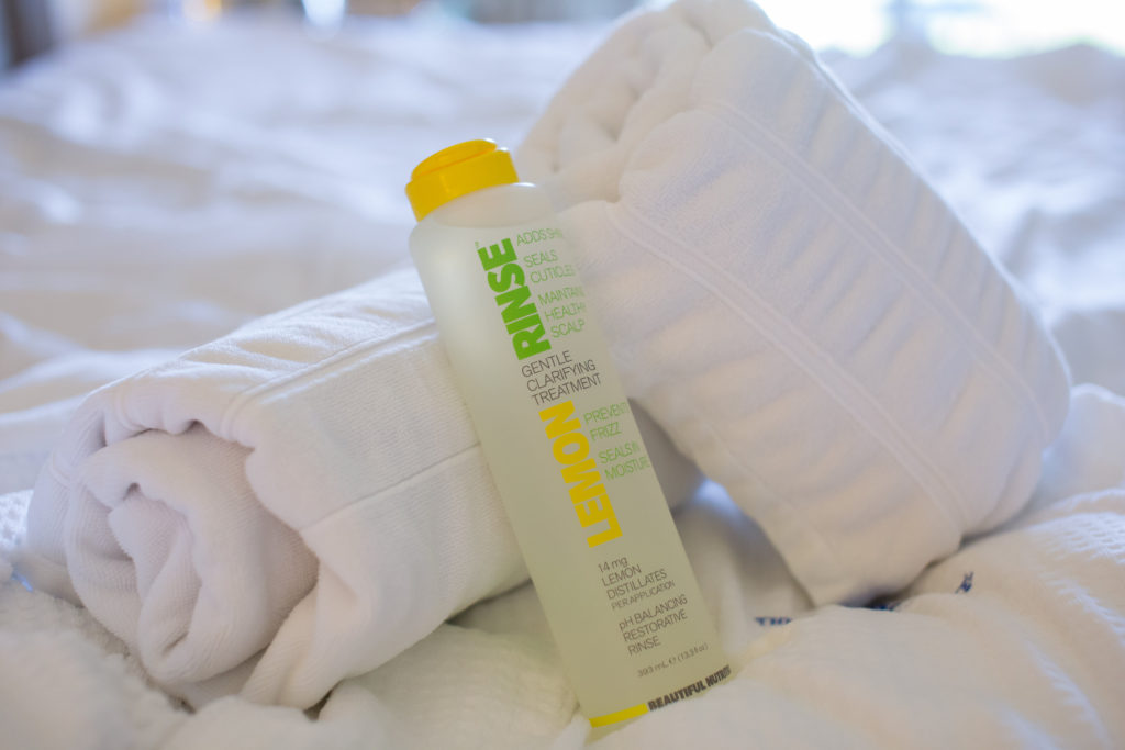 Instant Clarifying Treatment, Prevents Frizz, Lemon Rinse Gentle Clarifying Treatment