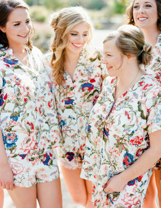 Blogger Wedding, Style Me Pretty Wedding, The Arbors Events, Piyama Pajama Sets, Modern Trousseau Wedding Dress, ASOS Bridesmaid Dresses, The Knotty Ties