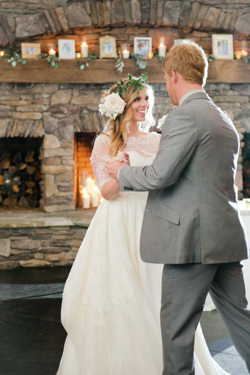 Louella Reese Wedding: Reception