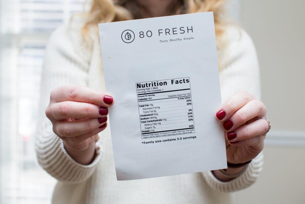 Food Delivery Service, Food Delivery Service Review, 80 Fresh, 80 Fresh Review, Healthy Chicken Pot Pie, Healthy Steak Chimichurri