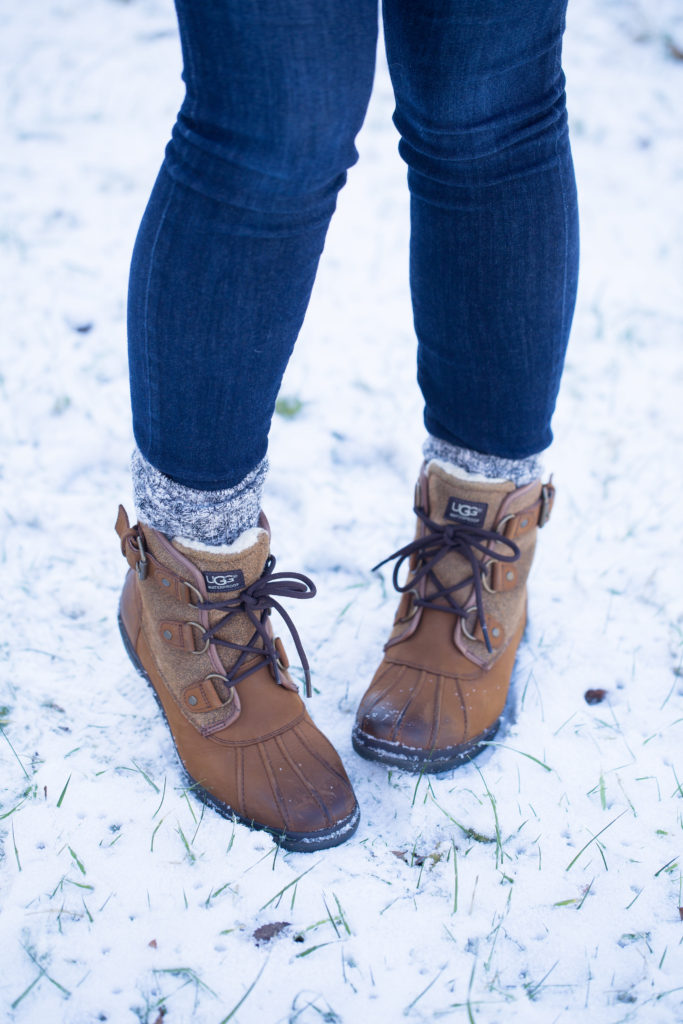 Flannel Popover, J.Crew Popover, Ugg Cecile Waterproof Boot, Winter Boots, Ugg Boots