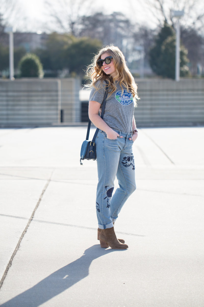 Spring's Trendy Denim