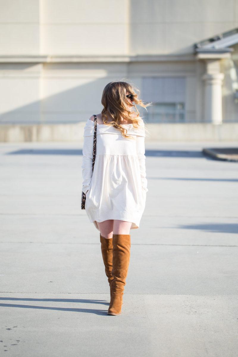 Dressed Up Sweatshirt Dress