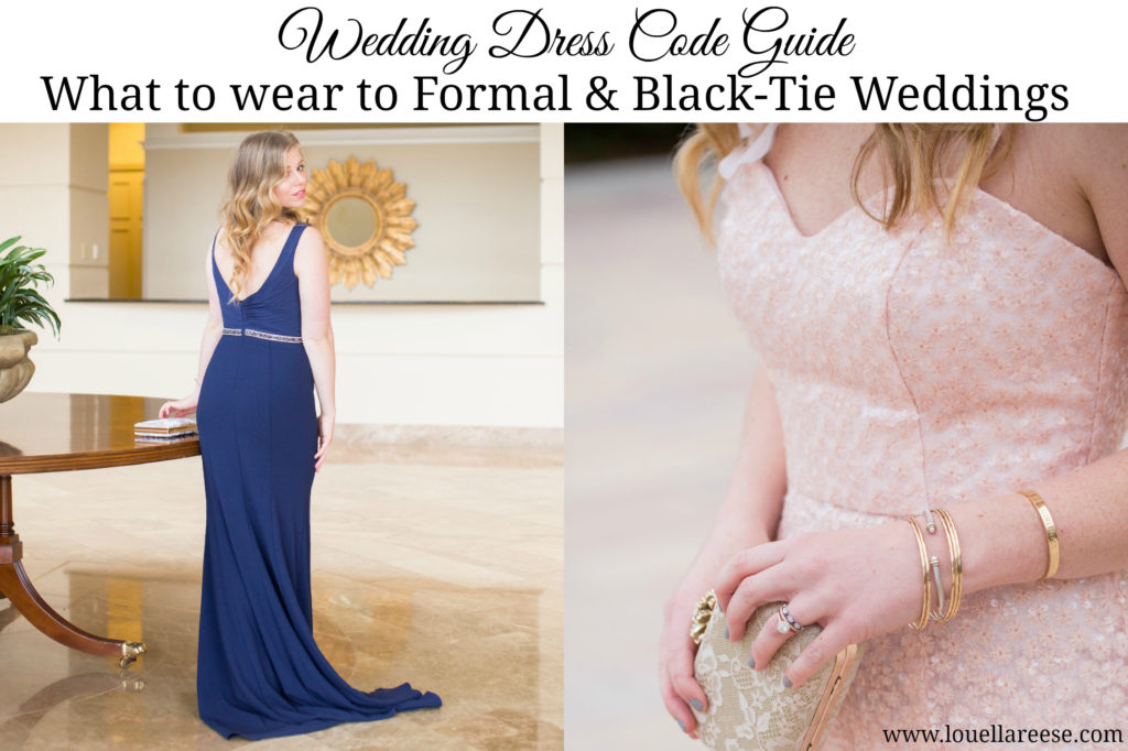 Formal Wedding Attire, What to Wear to a Wedding, Wedding Dress Codes, Wedding Guest Attire, David's Bridal Wedding Guest Dresses