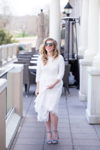 Spring Going Out Dresses: Lace Midi Dress
