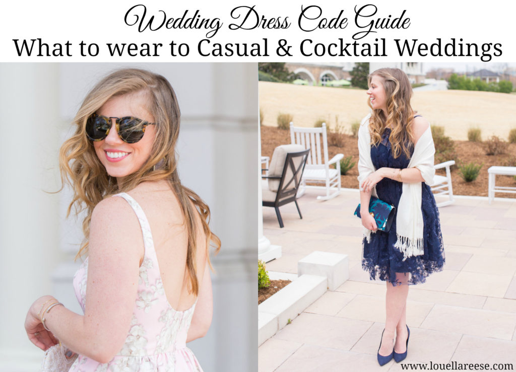 Wedding Dress Code Guide, What to Wear to a Wedding, Wedding Dress Codes, Wedding Guest Attire, David's Bridal Wedding Guest Dresses