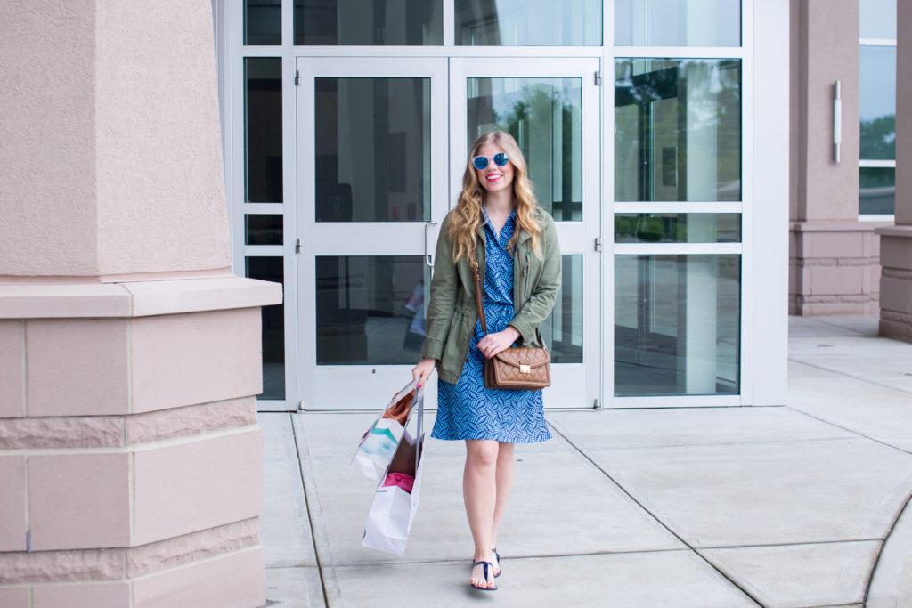 Louella Reese Pattern Shirt Dress for Summer // Summer Weekend Style