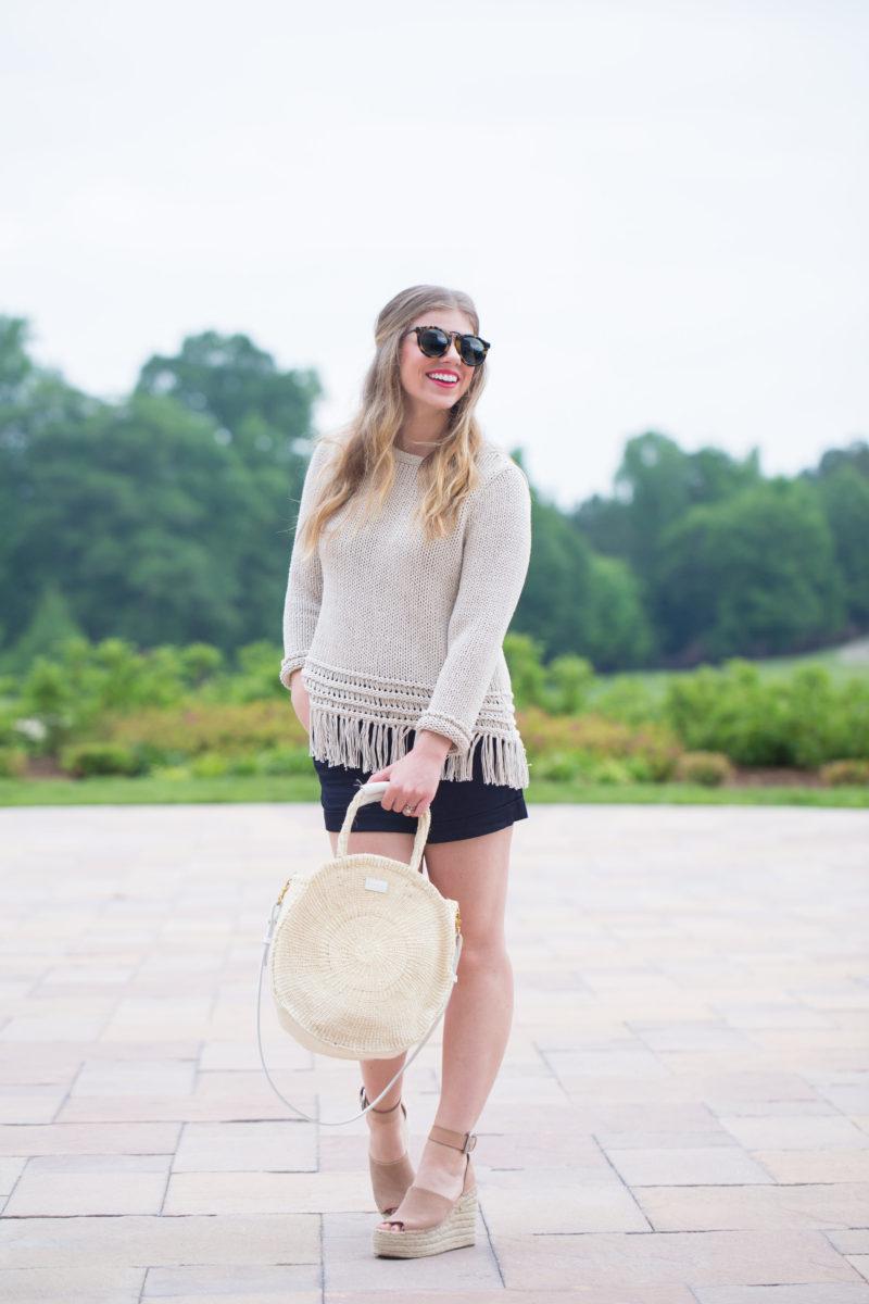 Music Festive Style: Fringe Sweater