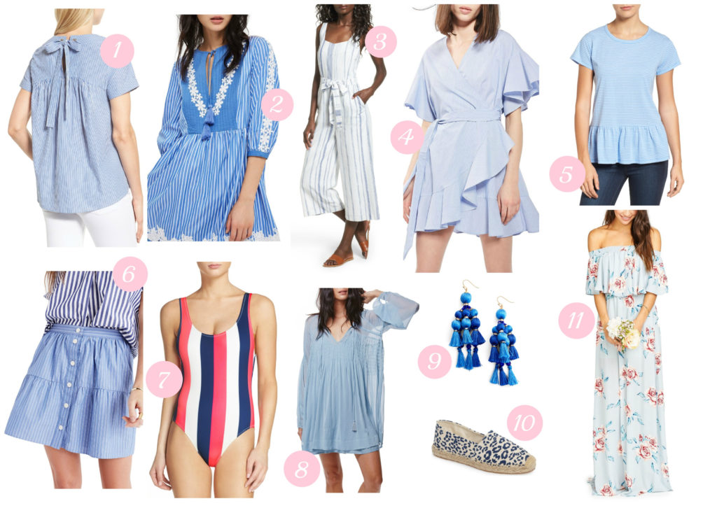 Louella Reese Blue Must Have Clothing for Summer // Blue Summer Clothes