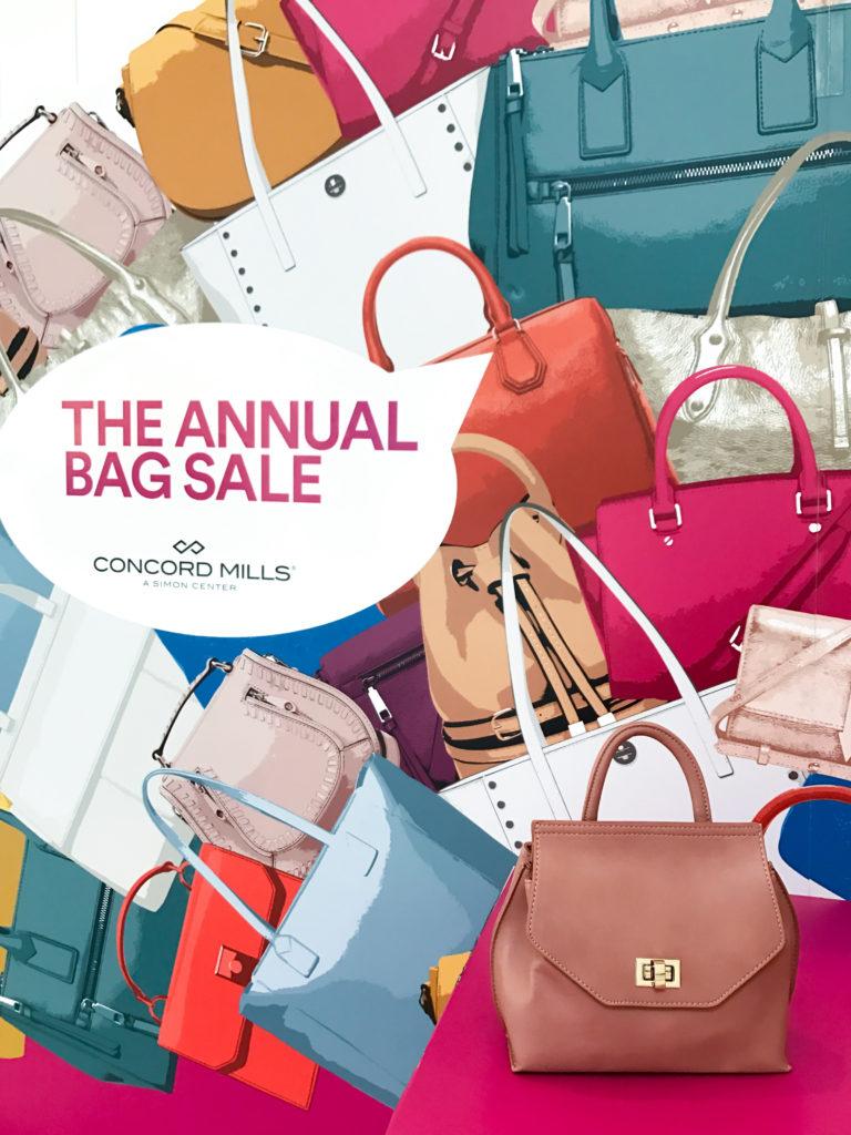 Concord Mills Annual Handbag Sale