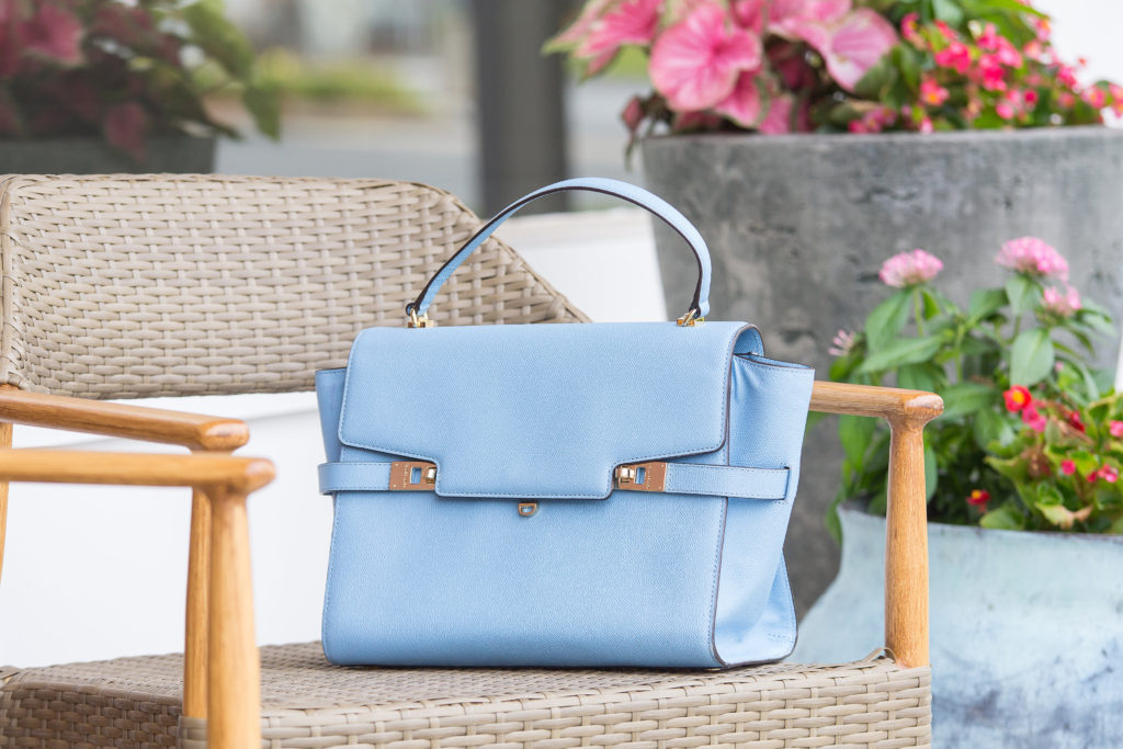 Blue Satchel | Louella Reese | Life & Style Blog