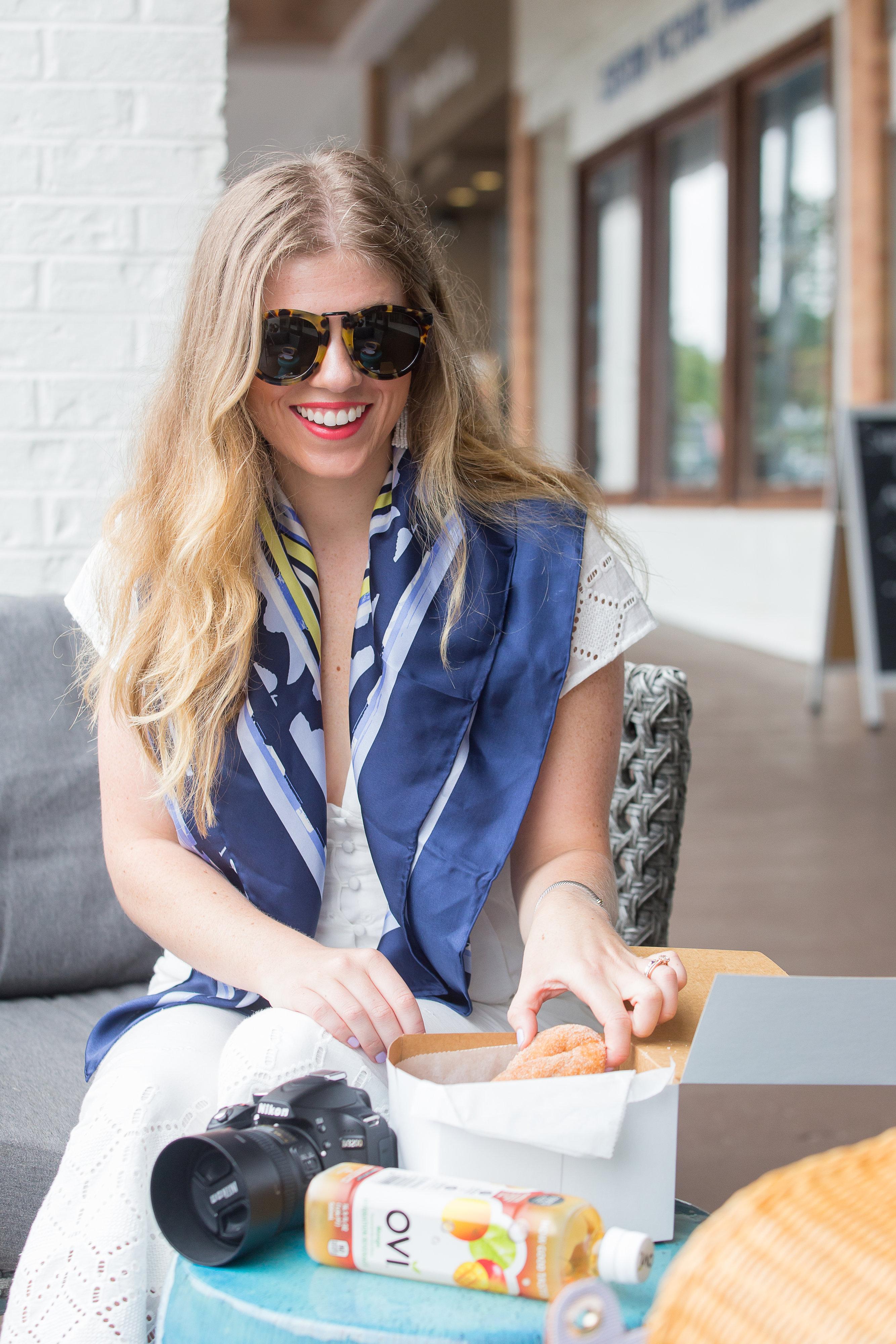 Charlotte Donut Shop + Summer Balance | Louella Reese | Charlotte Life & Style Blog