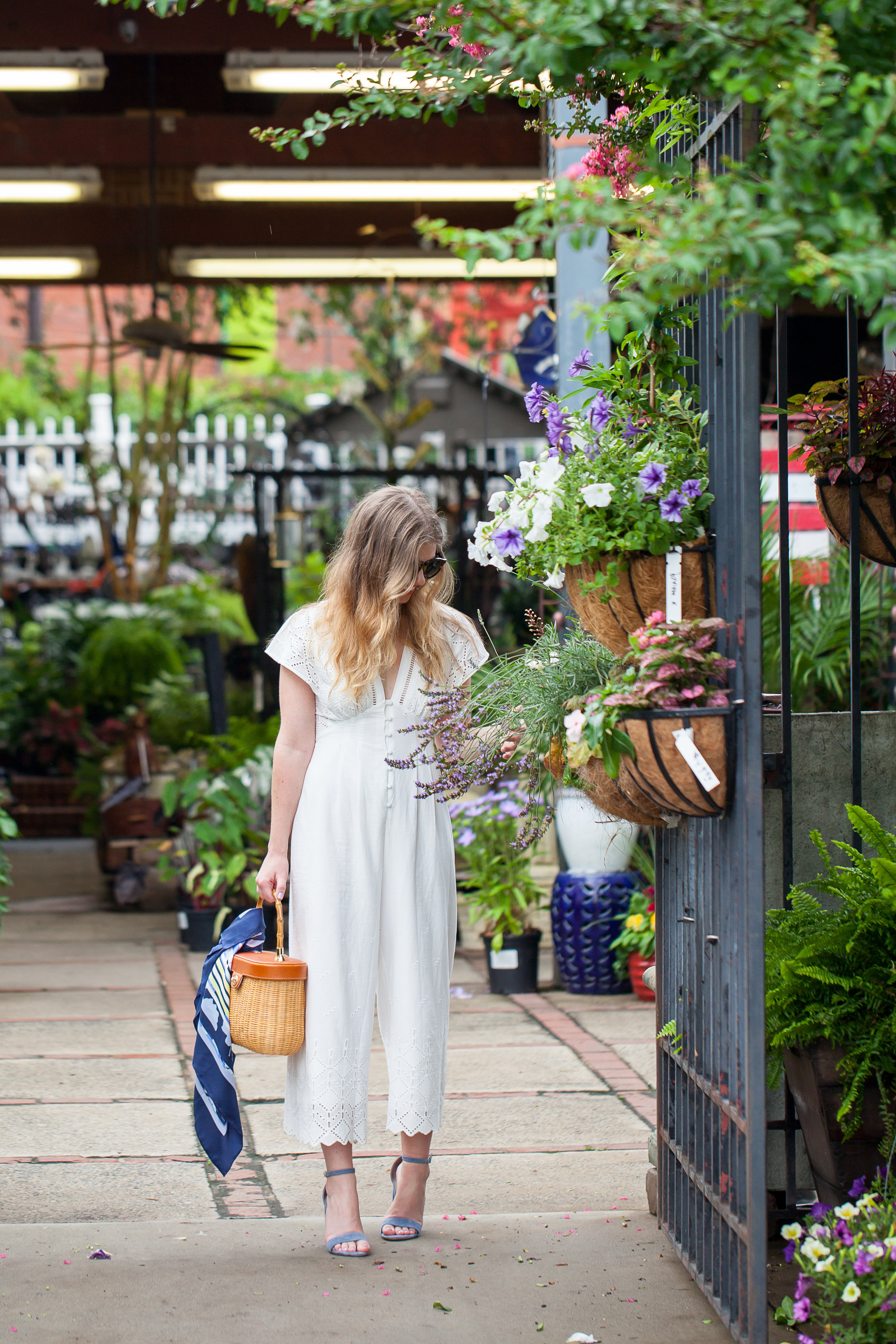 Louella Reese White Jumpsuit | Louella Reese | Charlotte Life & Style Blog