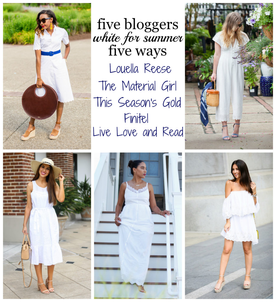 Louella Reese 5 Ways to Wear White This Summer | Louella Reese | Charlotte Life & Style Blog