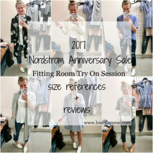 Nordstrom Anniversary Sale Fitting Room Session
