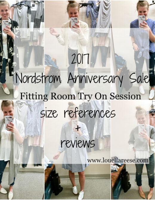 Nordstrom Anniversary Sale 2017 // Nordstrom Anniversary Sale Bloggers // Nordstrom Anniversary Sale Try On Session