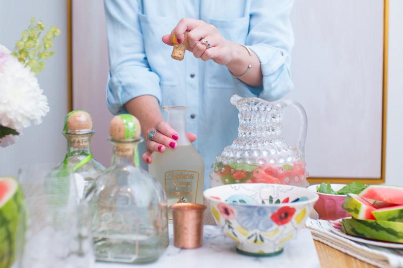 Patron // Watermelon Mint Margarita