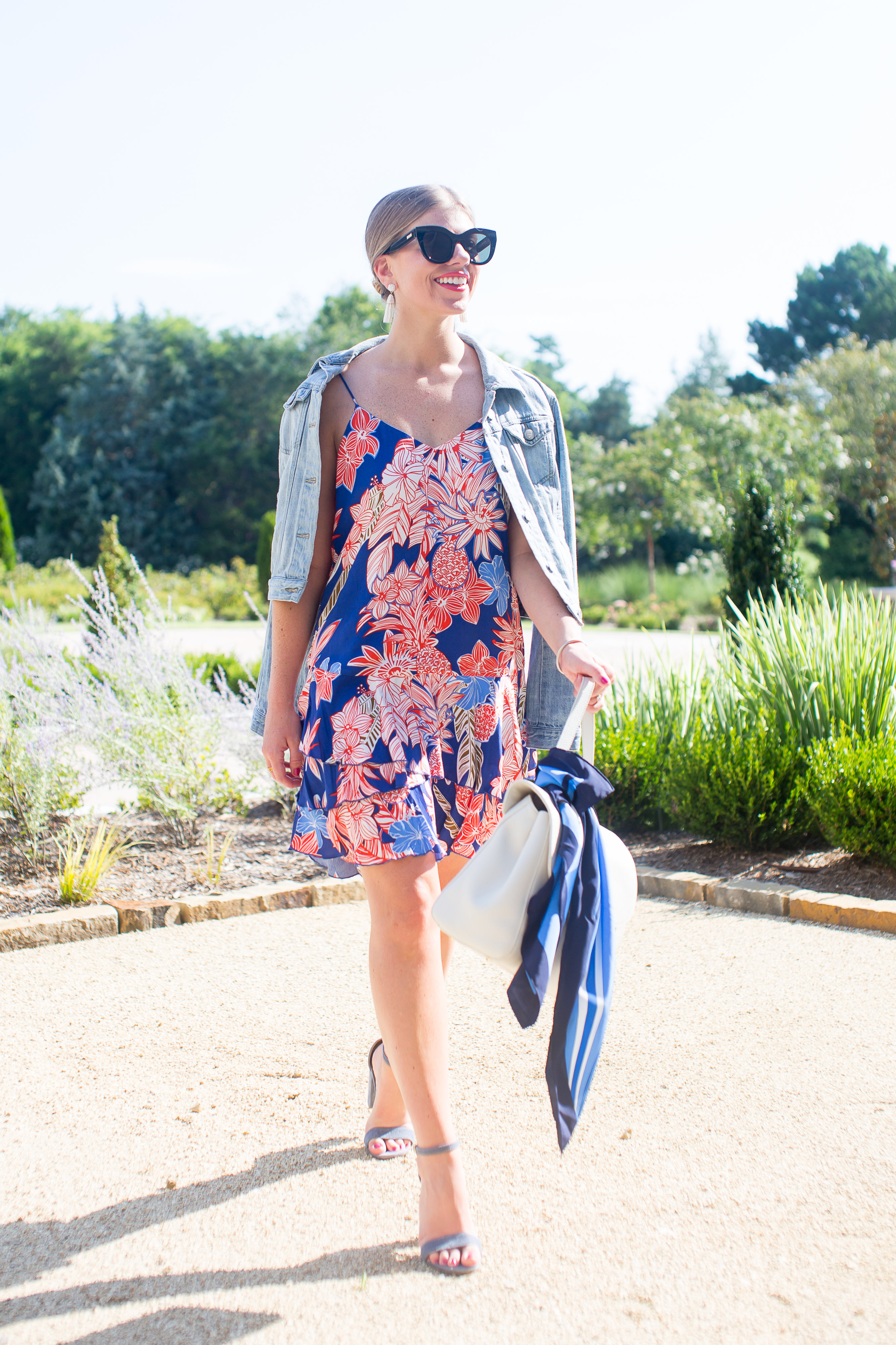 Tropical Print Dress // Vacation Style // Louella Reese // Life & Style Blog
