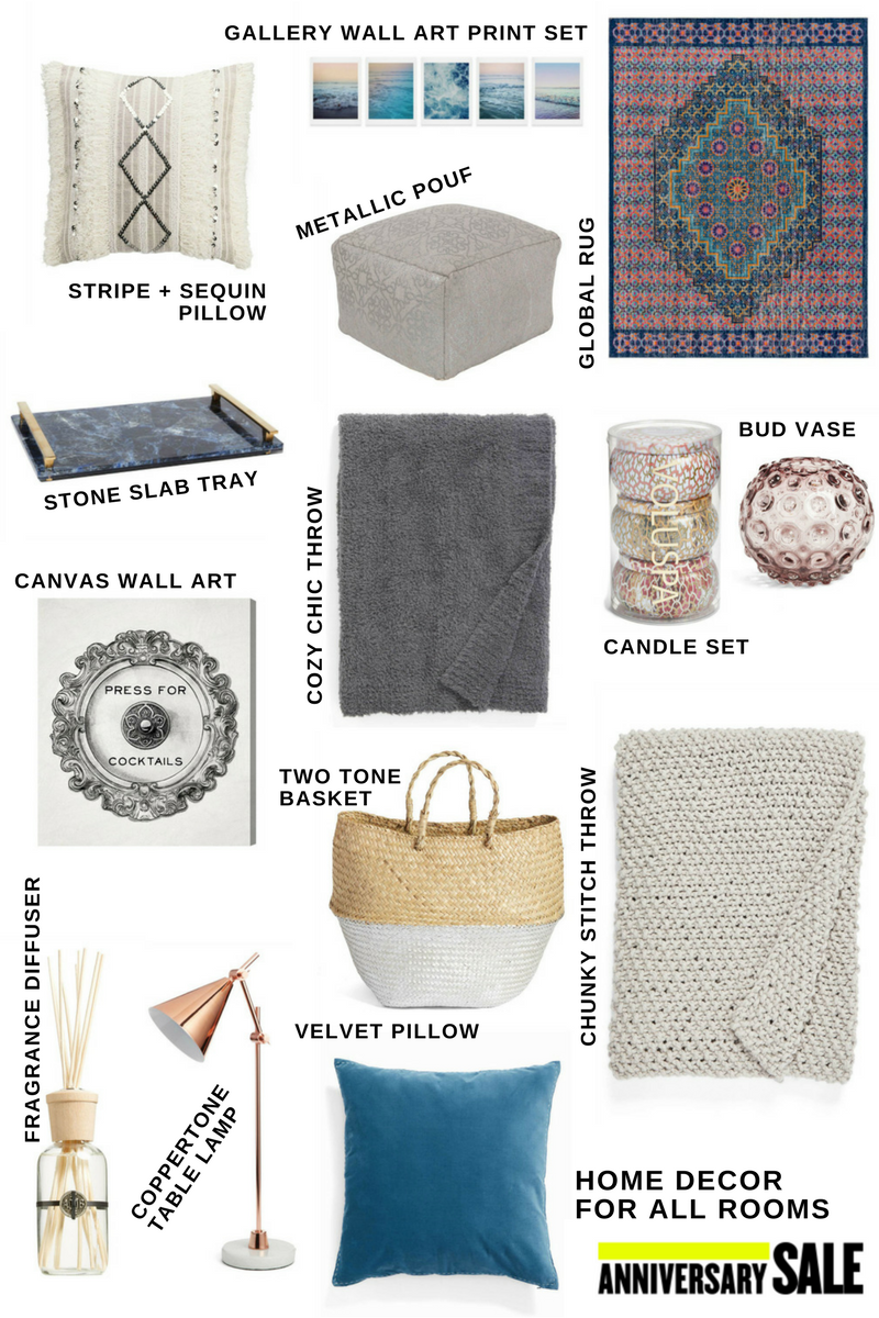 Nordstrom anniversary sale home decor picks louella reese Nordstrom home decor sale