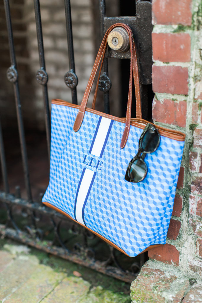 Barrington Gifts St. Anne Tote // Monogrammed Tote // Savannah Historic District // Louella Reese Life & Style Blog