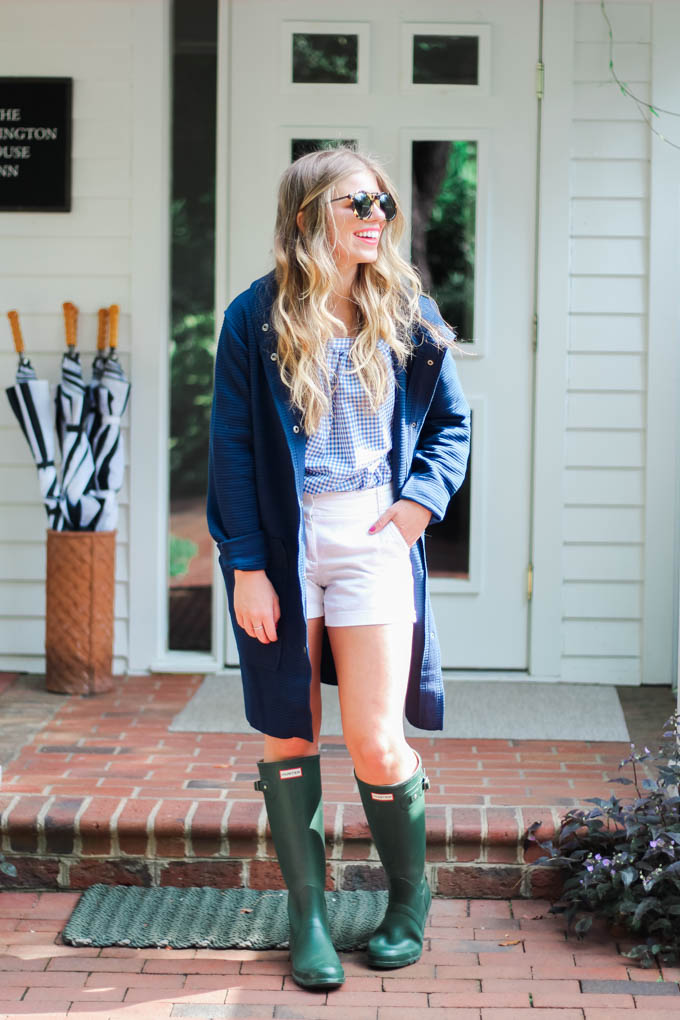 Navy Sweatshirt Coat // Fall 2017 Wardrobe Essentials // Louella Reese Life & Style Blog