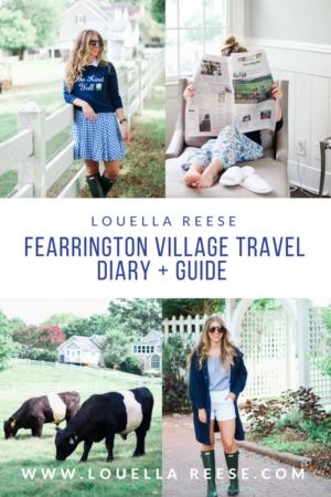Fearrington Village Travel Diary + Guide