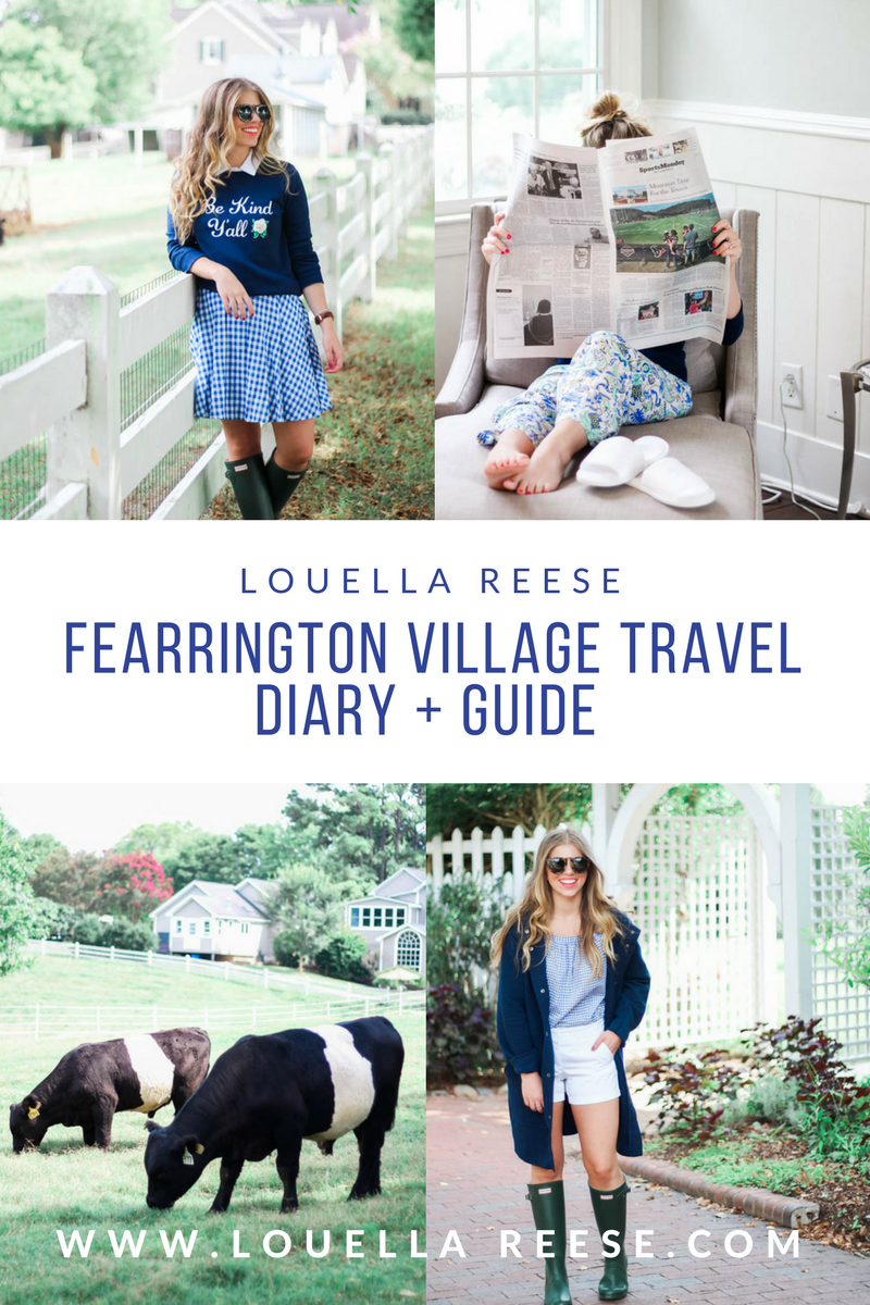 Fearrington Village Travel Diary + Guide