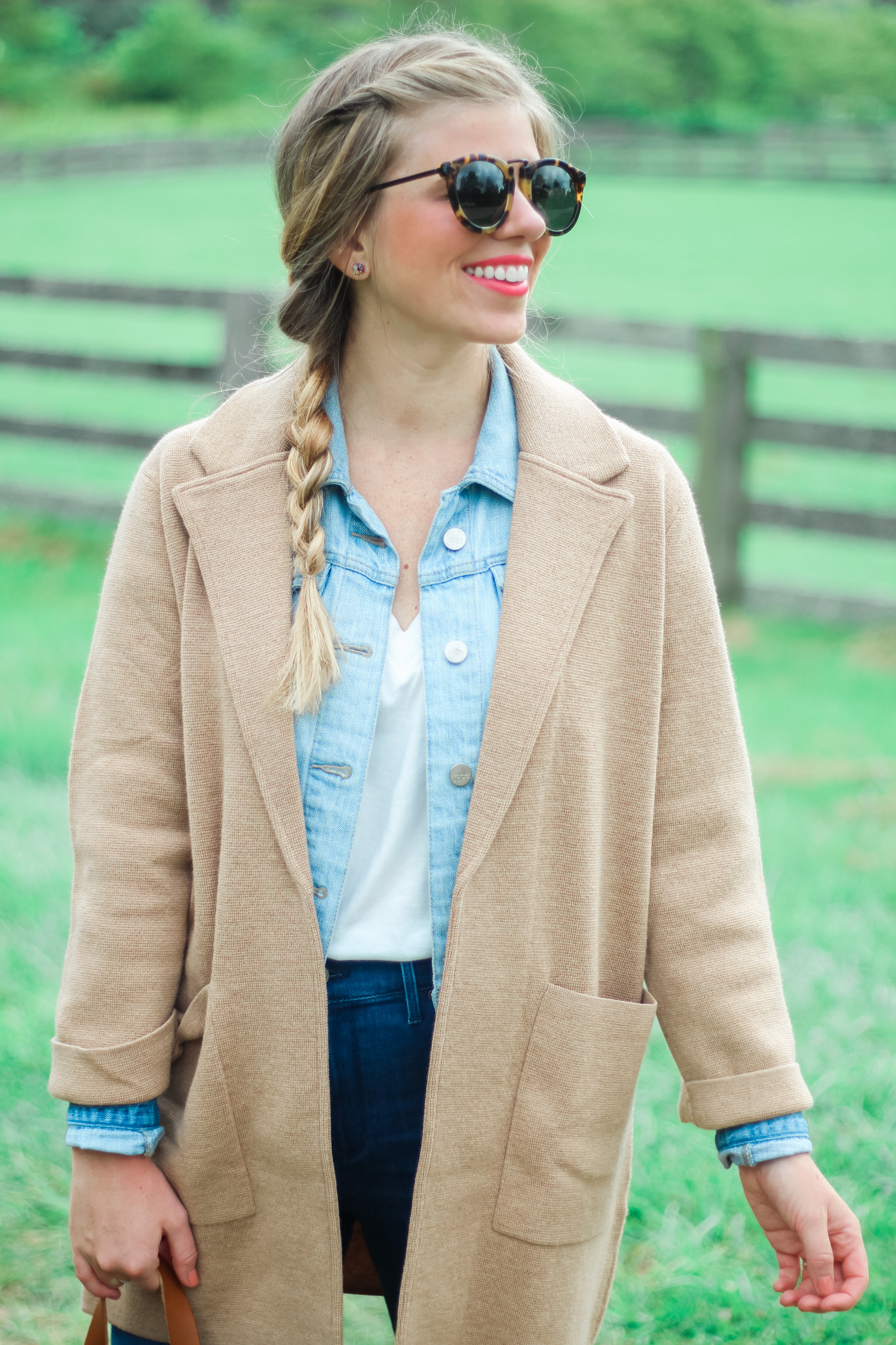 J.Crew Sweater Blazer | Fall Layering | Louella Reese Life & Style Blogger