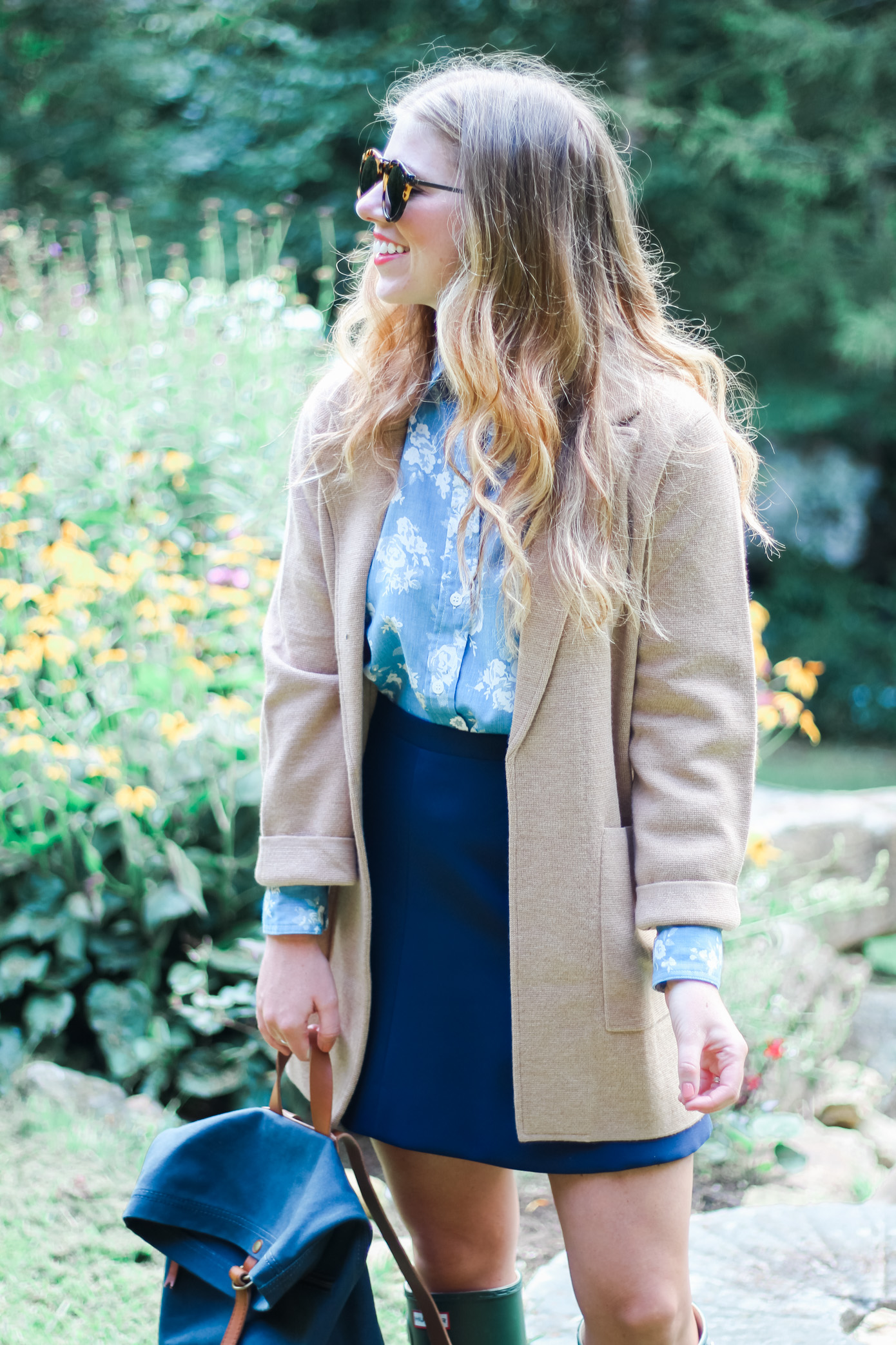 Sweater Blazer | Fall Jackets | Louella Reese Life & Style Blog