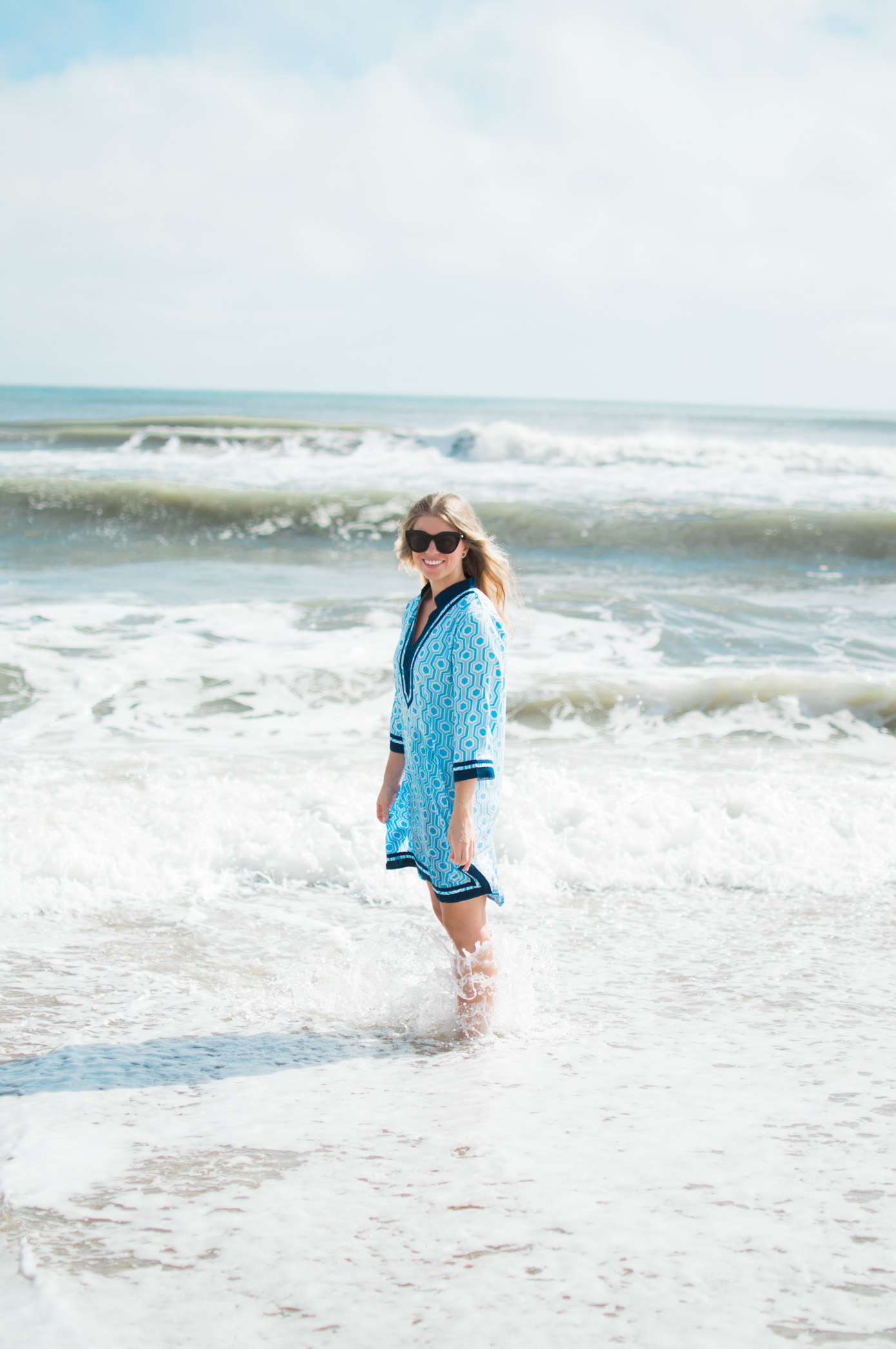 Tunic Dress // What to Wear to the Beach // Louella Reese Life & Style Blog