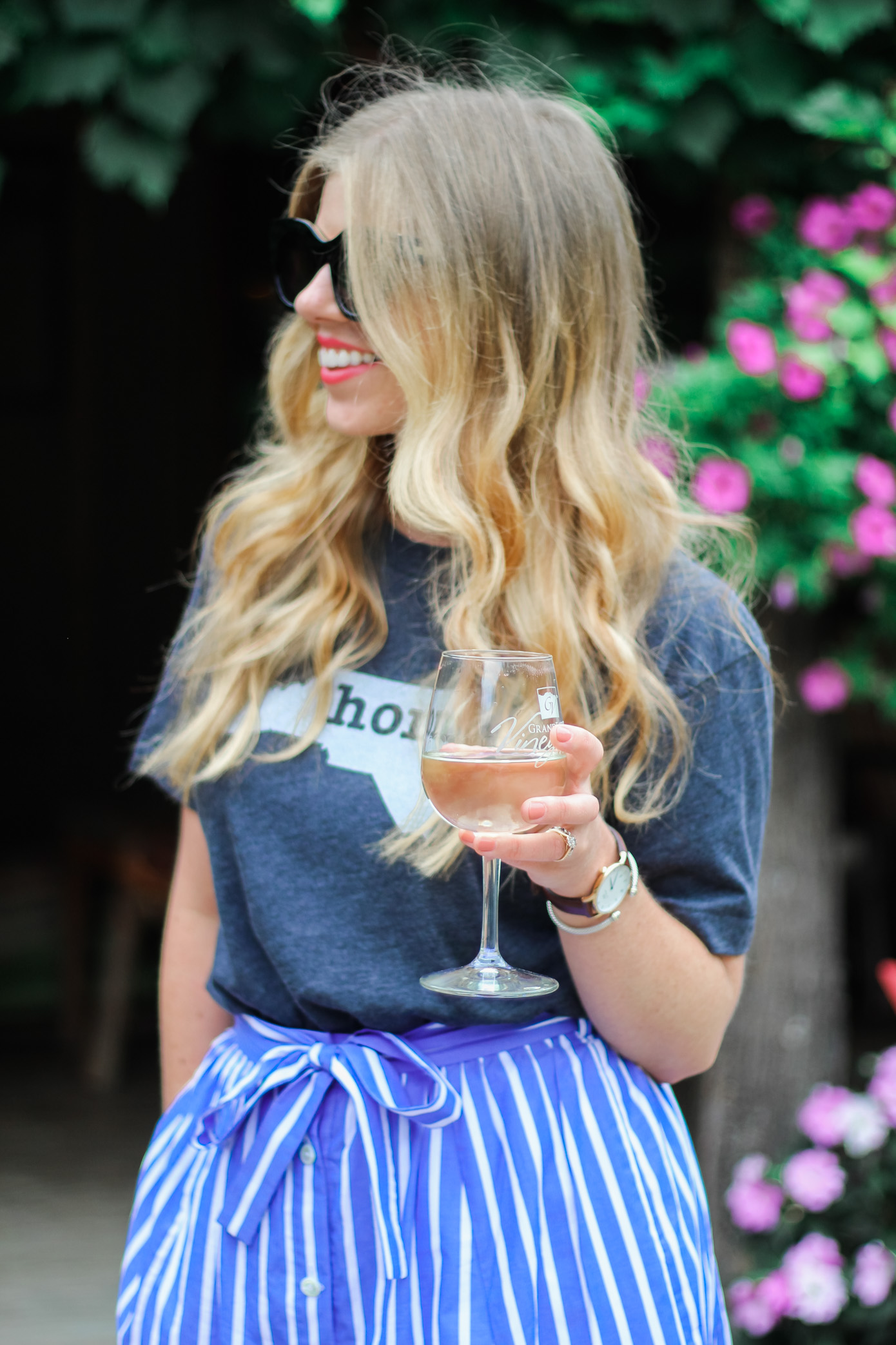 Home Tee Shirt | The Home T | What to Wear to a Winery | Louella Reese Life & Style Blog