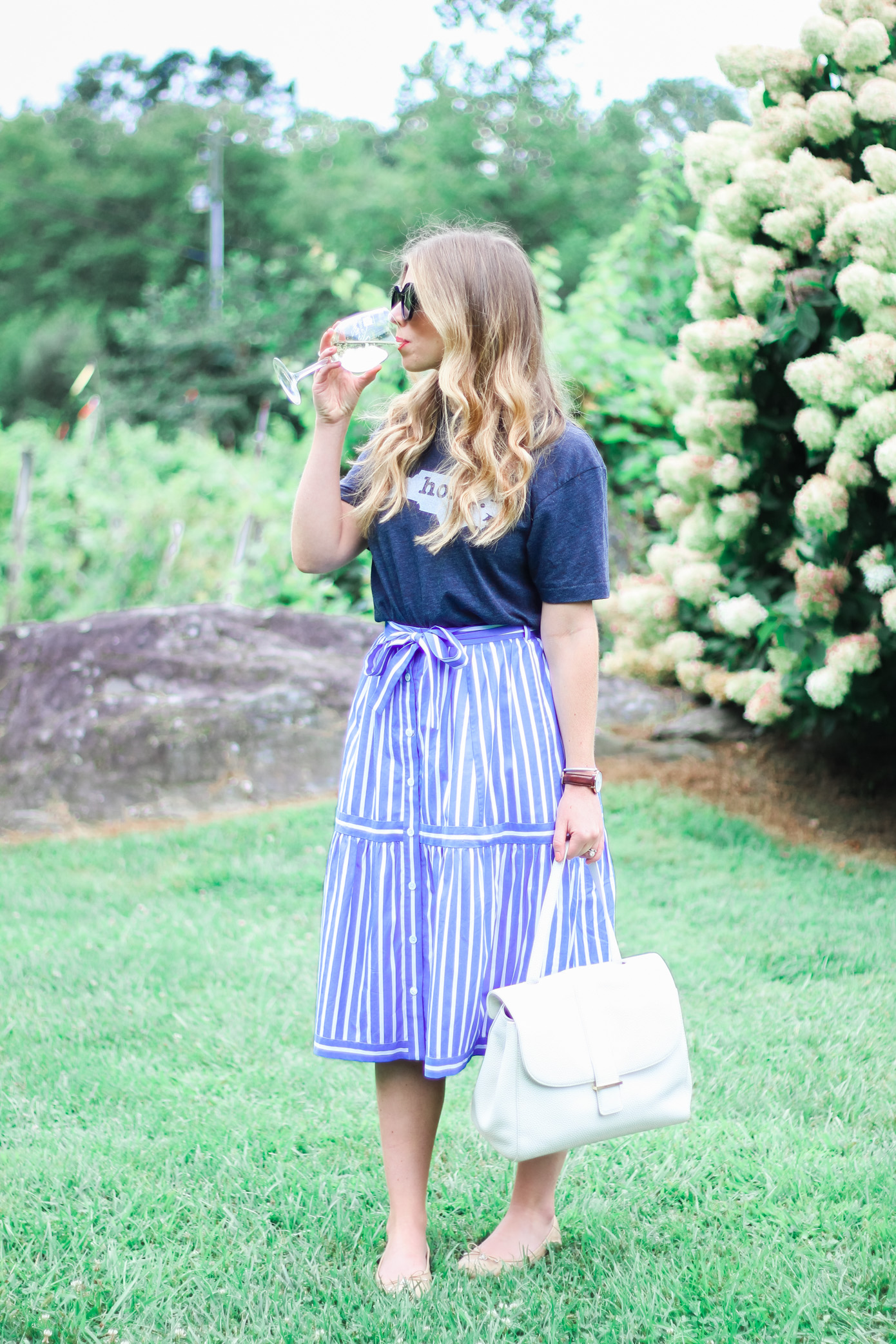 What to Wear to a Winery | Louella Reese Life & Style Blog