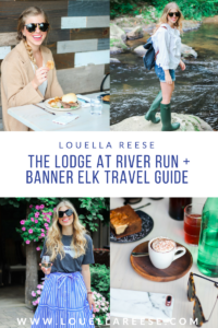 The Lodge at River Run // Banner Elk Travel Guide