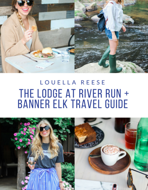 Banner Elk Travel Guide // Visit North Carolina // The Lodge at River Run // Louella Reese Life & Style Blog