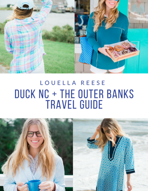 Outer Banks Travel Guide // Louella Reese Life & Style Blog