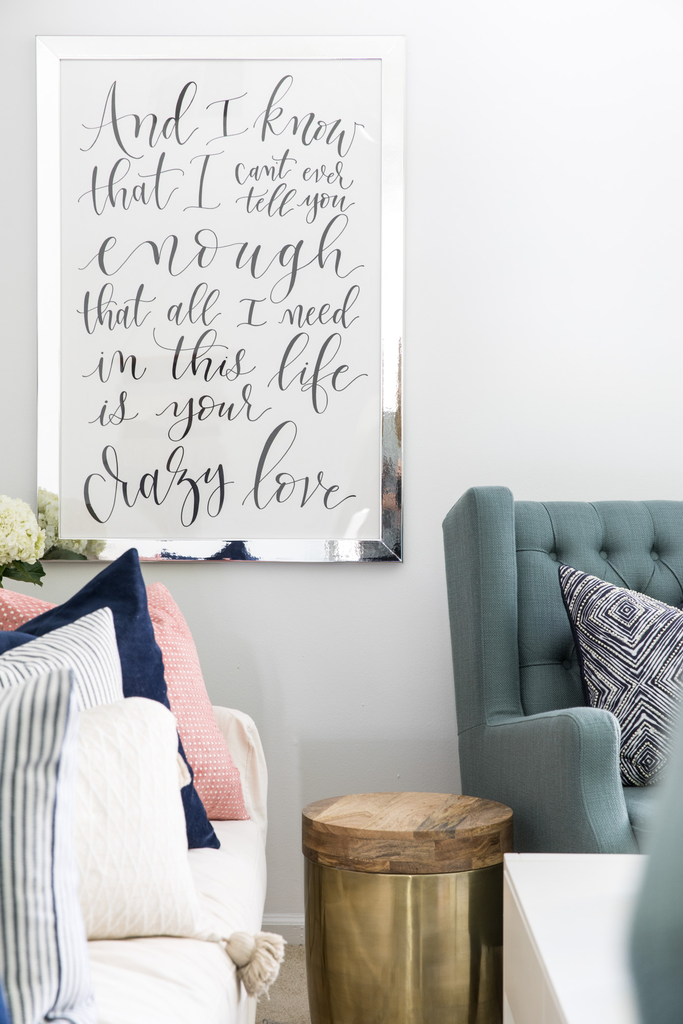 Wall Art & Decor | Wedding Song Artwork | Louella Reese Life & Style Blog