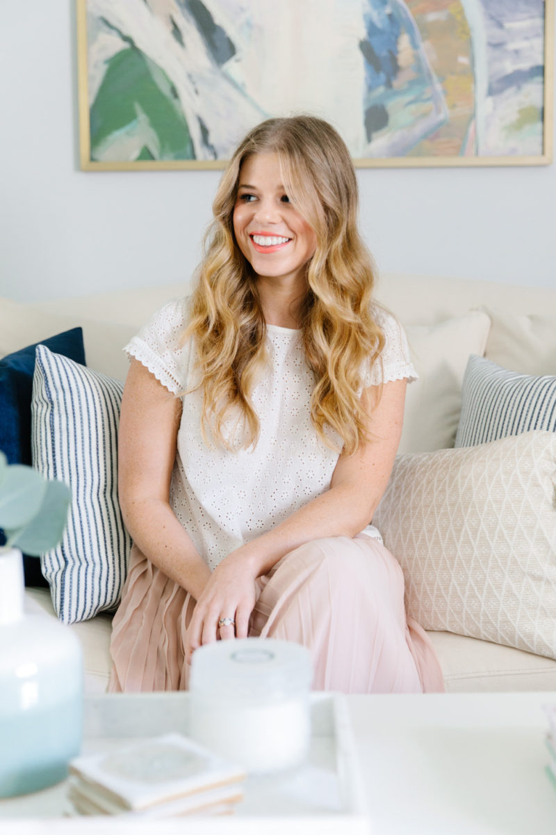 Glitter Guide x Louella Reese Home Reveal