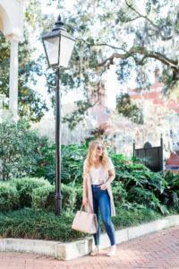 Louella Reese Fall Capsule Wardrobe: Jeans & A Tee Shirt