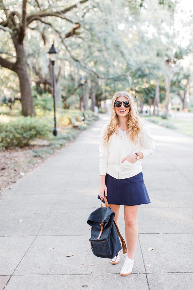 Louella Reese Fall Capsule Wardrobe: Classic Mini Skirt