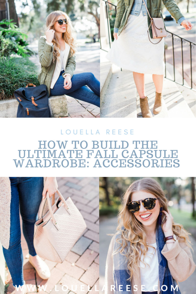 Louella Reese Fall Capsule Wardrobe: Accessories