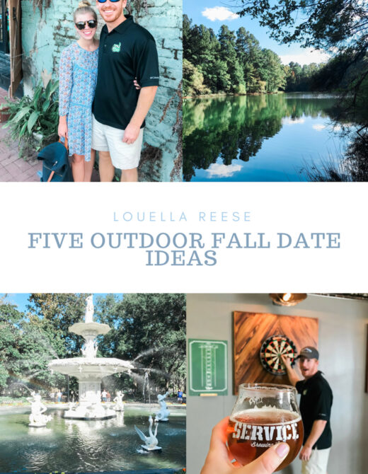 Outdoor Fall Date Night Ideas | Louella Reese Life & Style Blog